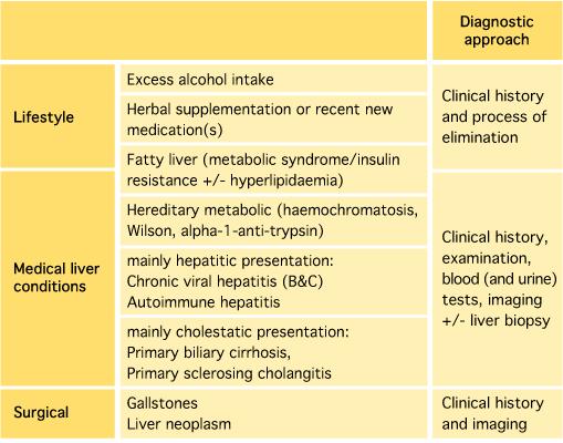 Abnormal Liver Function Tests (LFTs)